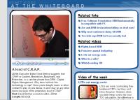 crap at the whiteboard - Klik voor grotere versie