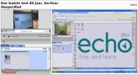 Echo360 - Klik voor grotere versie