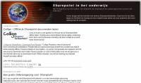Sharepoint Weblog - Klik voor grotere versie