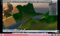 Camtasia vs Screenflow - Klik voor grotere versie