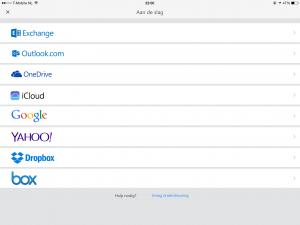 Eerste indruk: Outlook voor iOS en Android