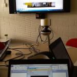 Test: Projectoverleg met de Polycom CX5100 en Lync