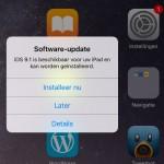 Apple wordt steeds opdringeriger met iOS updates