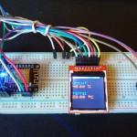 Zaterdagmiddagproject: 128×128 pixel SPI TFT LCD scherm voor Arduino