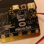 BBC micro:bit as an Eddystone-URL Beacon using Espruino