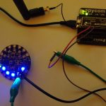 Connect the Circuit Playground to The Things Network using a LoPy