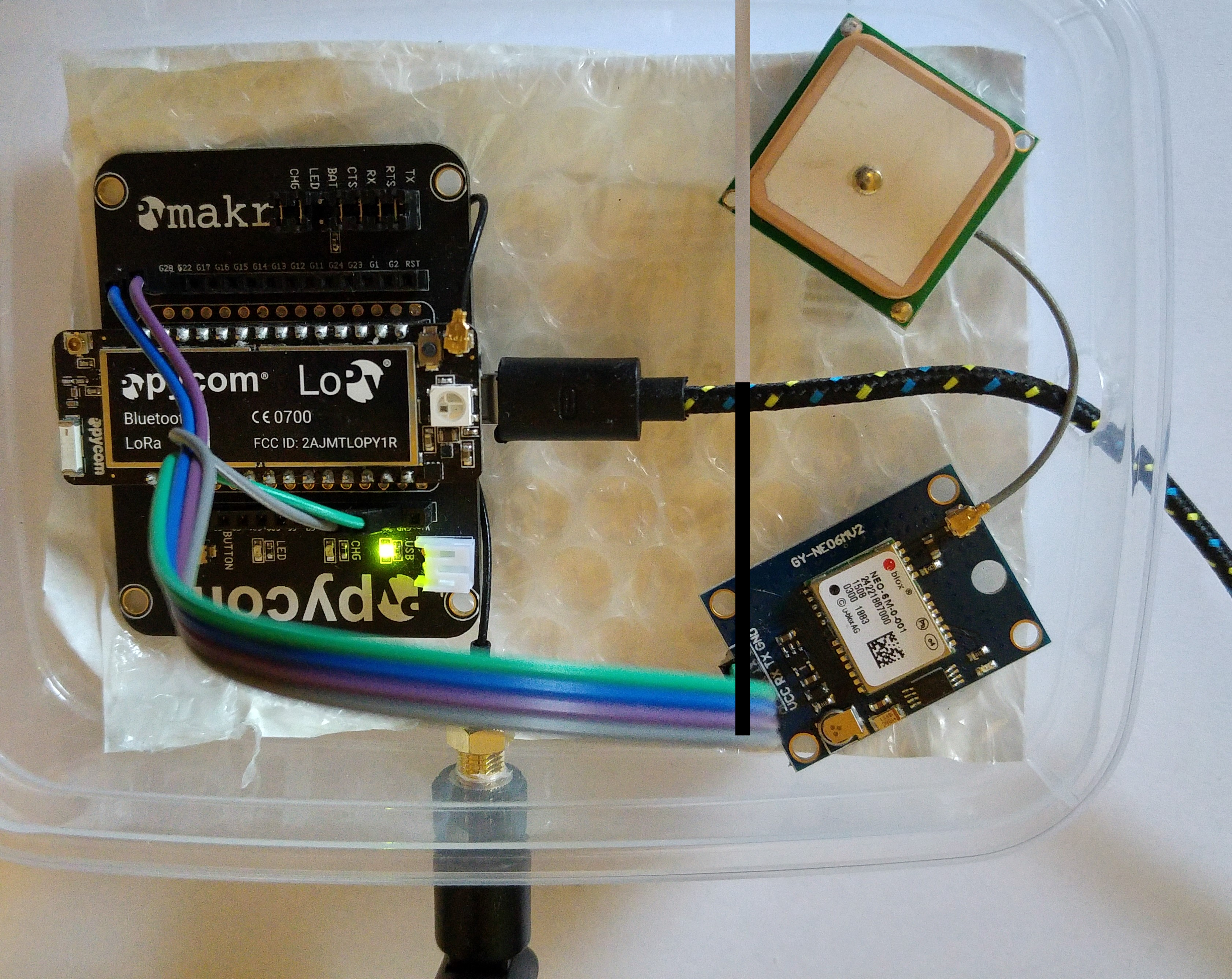 LoPy + GPS receiver on The Things Networks – ICT en