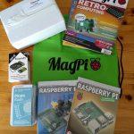 Gewonnen! Raspberry Pi pakket van MagPi en Elektor tijdens Maker Faire Eindhoven