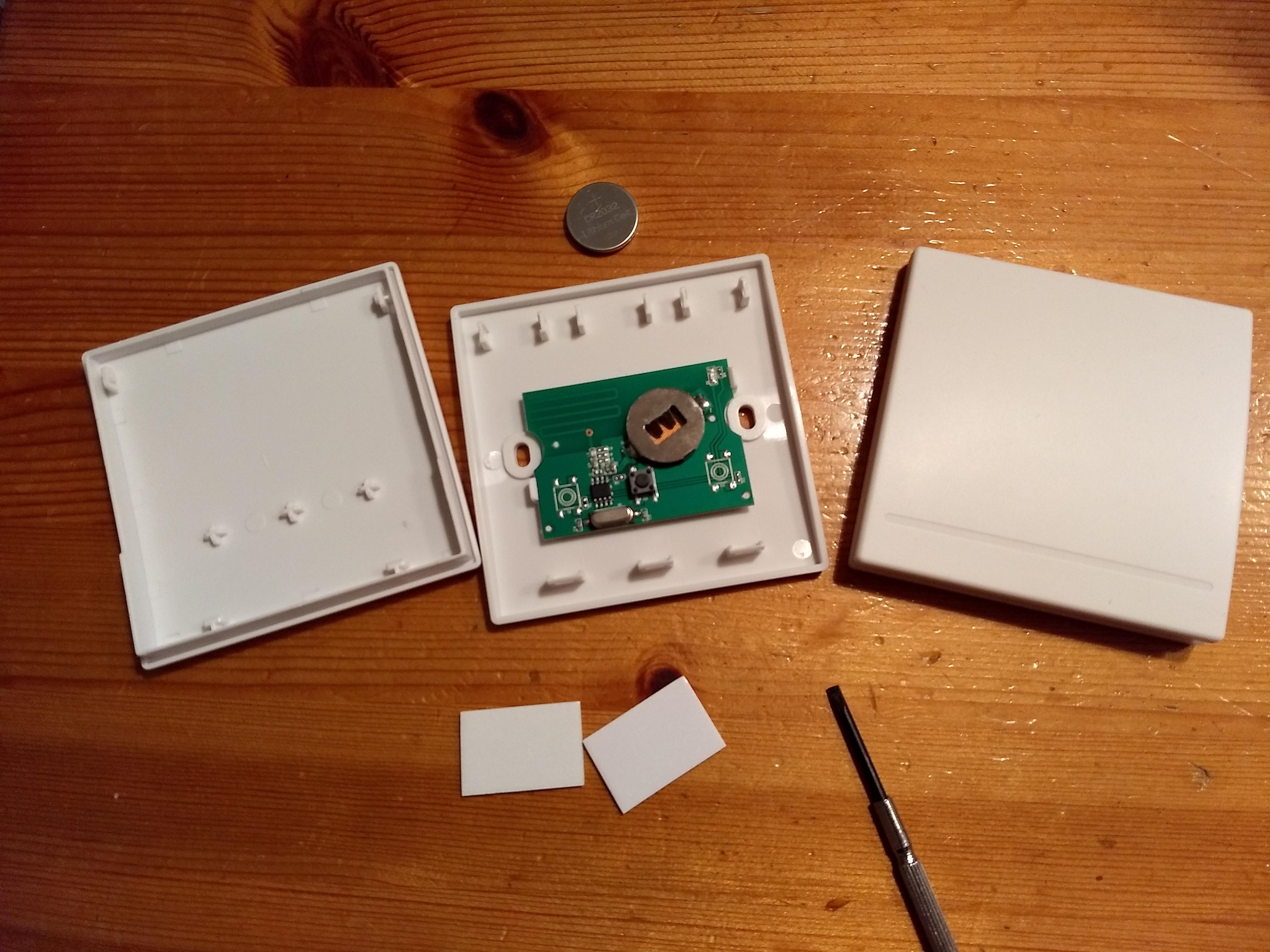 Draadloze schakelaar met Sonoff RF Bridge + TASMOTA + Home Assistant