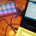 RGB LCD Matrix aansturen met Arduino / ESP8266