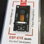 ESP-EYE - spraak- en gezichtsherkenning in het heel klein!