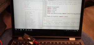 BLE + MicroPython op de ESP32