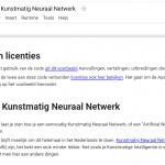Je eerste Kunstmatig Neuraal Netwerk