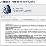 Lessenserie over privacy van de Autoriteit Persoonsgegevens