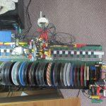 Leuk: CD-wisselaar van LEGO