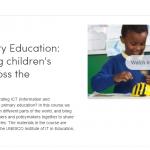 Onderwijs en ICT gerelateerde MOOCs voor komende zomer