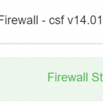 Een firewall op mijn VPS (Virtual Private Server)
