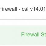 Een firewall op mijn VPS (Virtual Private Server)