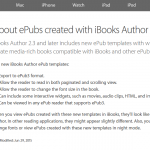 Wauw: EPUB3 ondersteuning in iBooks Author