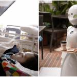 Creepy of Cool? Restaurant gebruikt verlamde robotmedewerkers