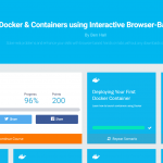 Cool: Katacoda – interactieve (Docker-) trainingen in je browser