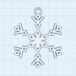 Kerststerren ontwerpen en programmeren in Tinkercad