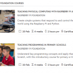 Tip: 2 FutureLearn MOOCs van de Raspberry Pi Foundation