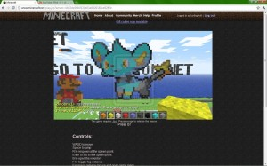 Minecraft_website