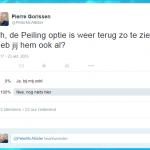 Twitter Peiling optie is terug (nu voor altijd?)