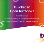 Presentatie Quickscan Open Textbooks