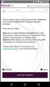 Cool en een beetje eng: READID demo app