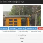 RPi Cam Control en ZeroView voor het raam