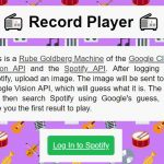 Leuk: een Rube Goldberg Machine van de Google Cloud Vision API en de Spotify API