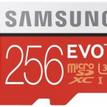 Samsung EVO+ zet 256GB op je nagel