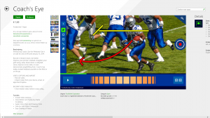 Coachs Eye op Windows 8.1