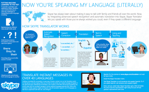 Cool: Skype realtime vertaling Spaans – Engels