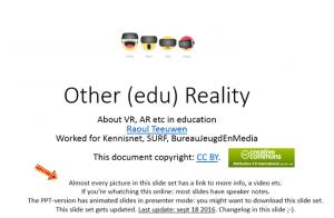 995503428d6f4f Dat Raoul Teeuwen veel over Virtual Reality (VR) en Augmented Reality (AR)  weet