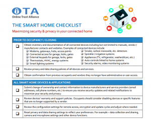 Smart_Home_Checklist