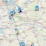 TTN Mapper – TTGO T-Beam – rondje Nederland