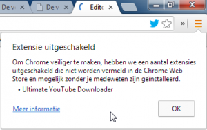 En weg was ie: Ultimate YouTube Downloader