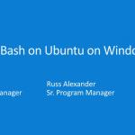 Ubuntu Linux op Windows 10