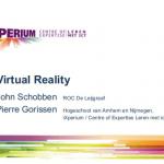 ROC De Leijgraaf designteam Virtual Reality