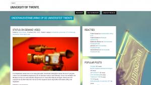 Weblog_Universiteit_Twente