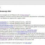 Wikispaces gaat sluiten
