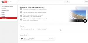 Bekijk YouTube 4K video's op je SmartTV