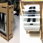 """Heel mooi! DIY """"Split-flap display"""" op basis van Arduino"""
