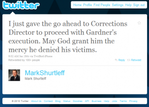 Mark Shurtleff Tweet
