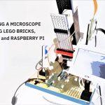 MicroscoPy - Microscoop gemaakt van LEGO + Raspberry Pi.